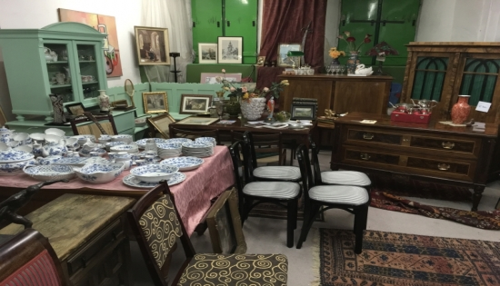 Antique store Eggenburg, Lower Austria